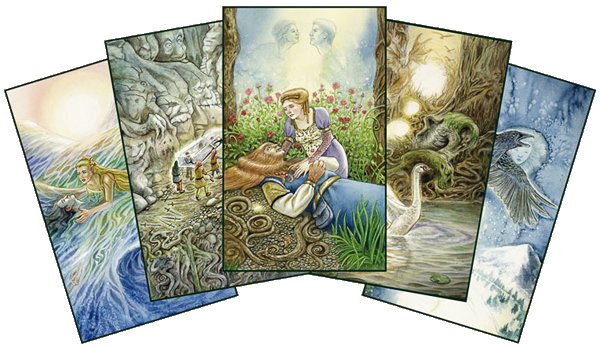 The Fairy Tale Tarot cards